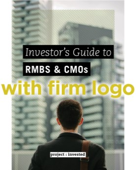 Investor's Guide to RMBS and CMOs (with firm logo)